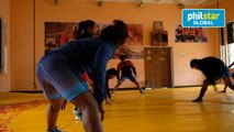 Young women wrestlers in India dream of glory despite odds