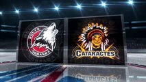 Rouyn-Noranda, Huskies at Shawinigan, Cataractes