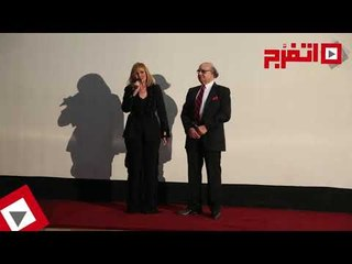 اتفرج   كلمة يسرا ضيف شرف مهرجان جمعية الفيلم أثناء تكريمها