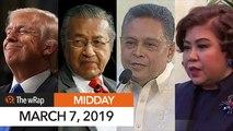 Duterte appoints Javier to SC, Tijam to JBC   Midday wRap
