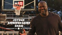 Shaquille O'Neal a 47 ans