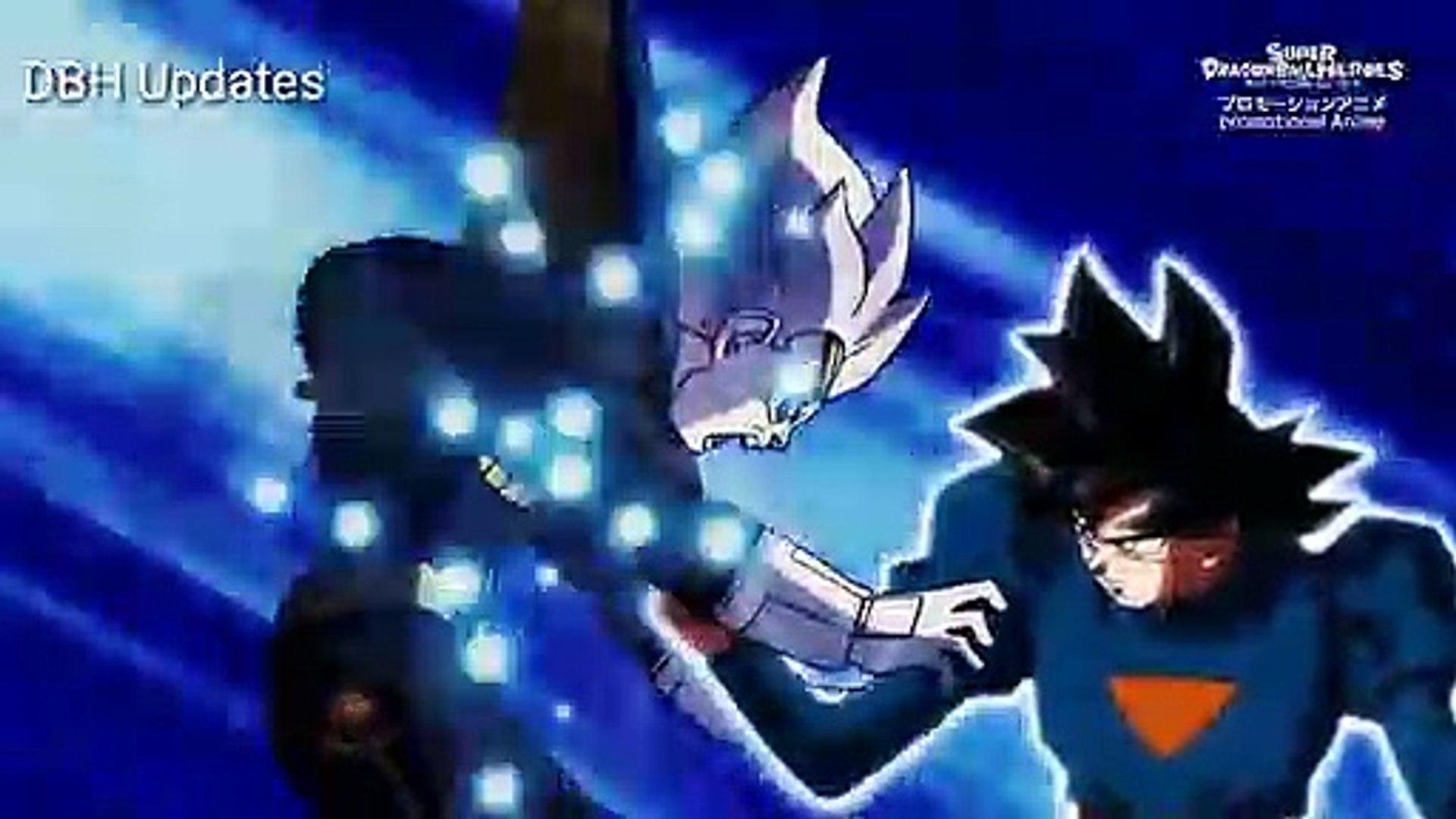 Dragon Ball Heroes Episode 10 Preview Grand Priest Goku Vs Vegeta