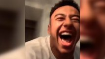 La folle explosion de joie de Jesse Lingard après la victoire des Red Devils