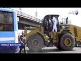 محافظة القاهرة والشرطة يبدأن فى نقل الباعة الجائلين من رمسيس إلى أحمد حلمى