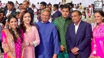 Nita Ambani Inaugurates Dhirubhai Ambani Square At Jio World Centre in Mumbai