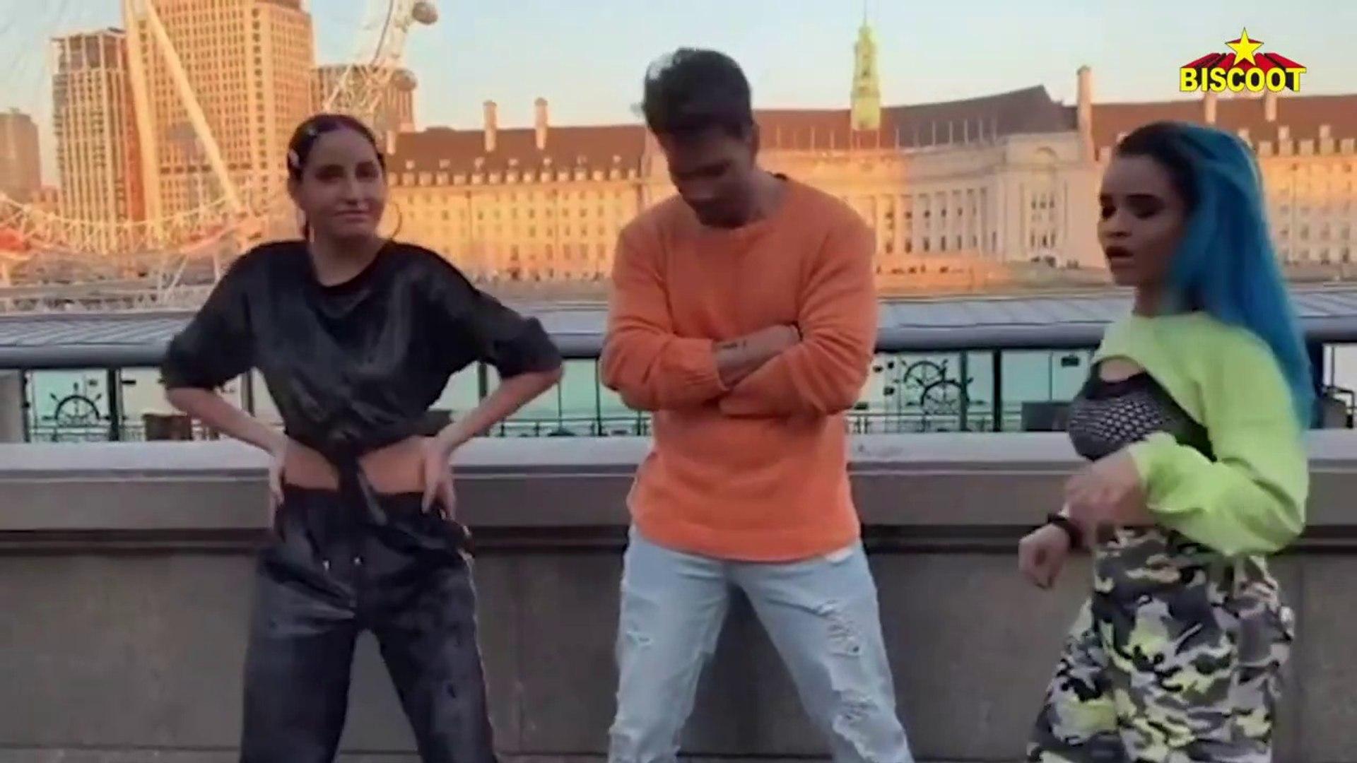 Dilbar Dilbar Girl Nora Fatehi's UNBELIEVABLE Belly Dance Challenge to Varun Dhawan In London
