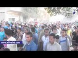 """الآلاف يشيعون جثمان شهيد """"باروط"""" ببني سويف"""