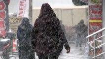 Doğu Anadolu'da yoğun kar yağışı ve tipi - KARS