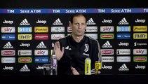 La conferenza stampa di Massimiliano Allegri pre Juventus Udinese