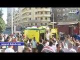 """تشييع جثمان شهيد سيناء بالدقهلية..والأهالي يهتفون: """"لا اله الا الله الشهيد حبيب الله"""""""