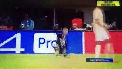 ردة فعل مبابي بعد الخسارة أمام مانشستر يونايتد