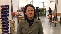 Johanna Rolland, la présidente de  Nantes métropole a visité le nouveau Min