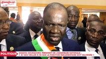 """Amadou Soumahoro, président de l'assemblée nationale :  """"Je vais veiller à ce que la fonction parlementaire soit valorisée"""""""