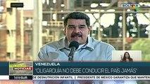 Pdte. Nicolás Maduro: La oligarquía no debe conducir el país jamás
