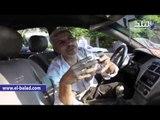 سائق يشجع فكرة تاكسي البنات في أول تجربة للعمل بالشارع