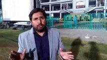 Watch Aaj News Sport Rerporter Analysis about PSL match in Karachi