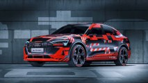 New Audi Q4 e-tron SUV 2020 - see why it's like a baby Tesla Model X