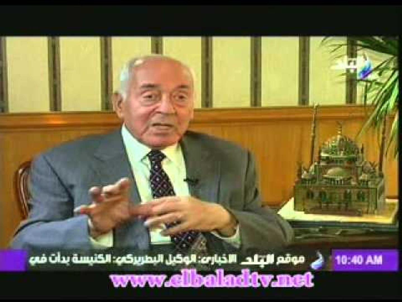 حجازى رئيس وزراء مصر الاسبق: مصر هى السبب فى