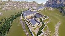 Briançon : les premières images du futur fort des Têtes