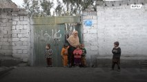 70 year old grandmother single-handedly looks after 17 children in Afghanistan