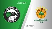 Darussafaka Tekfen Istanbul - Panathinaikos OPAP Athens Highlights | EuroLeague RS Round 25