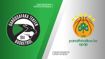 EuroLeague 2018-19 Highlights Regular Season Round 25 video: Darussafaka 67-91 Panathinaikos