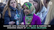 Democratic Presidential Candidates Defend Minnesota Rep. Ilhan Omar