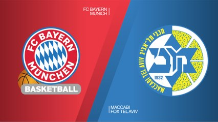 EuroLeague 2018-19 Highlights Regular Season Round 25 video: Bayern 70-77 Maccabi