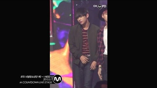[MPD직캠] 방탄소년단뷔 직캠 I NEED U BTS V Fancam Mnet MCOUNTDOWN 15057