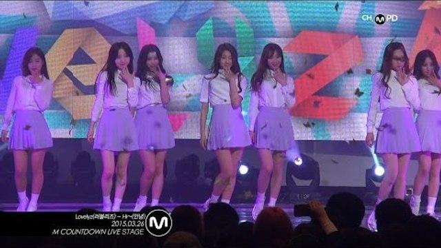 [MPD직캠] 러블리즈 직캠 안녕 Hi~ Lovelyz Fancam Mnet MCOUNTDOWN 150326