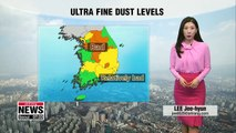 Ultra fine dust remains in some areas, chillier morinng _ 030819