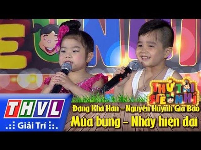 THVL | Thử tài siêu nhí - Tập 1: Múa bụng, nhảy hiện đại - Đặng Khả Hân, Nguyễn Huỳnh Gia Bảo | Godialy.com