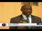 ORTM/Échange du Ministre des affaires étrangères avec la commission des affaires étrangères des Maliens de l'extérieur