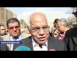 صدى البلد |  محافظ القاهرة: أهالى حلوان كانوا يعيشون مأساة قبل إزالة الباعة الجائلين