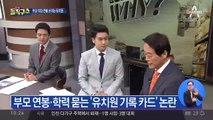 """""""아버지 뭐하시노""""…부모 연봉·학력 묻는 유치원"""