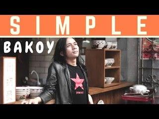 BAKOY - SIMPLE (OFFICIAL VIDEO LIRIK)