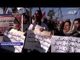 صدى البلد | العشرات يتظاهرون بالقائد إبراهيم ضد دعوات النزول في ذكرى ثورة يناير