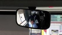 Bursa Bursa'nın Tek Kadın Halk Otobüsü Şoförü 'Kadının Yapamayacağı Hiç Bir Meslek Yoktur'