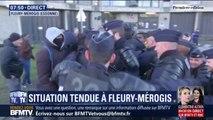 Des affrontements entre des surveillants et la police en cours à la prison de Fleury-Mérogis