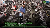 Two-wheeler sales down 4.22% in February