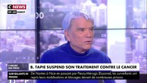 Un chroniqueur s'interroge sur la mort de Bernard Tapie... devant Bernard Tapie