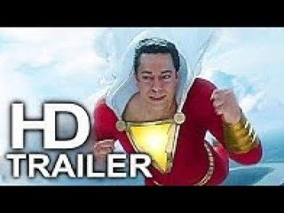 SHAZAM (FIRST LOOK - Superman Flying Trailer NEW) 2019 Superhero Movie HD