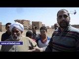 """صدى البلد    آثار اعتداء بلطجية على القبور بمدينة الصف .. والاهالى : """" مفيش احترام لحرمة الموتى """""""
