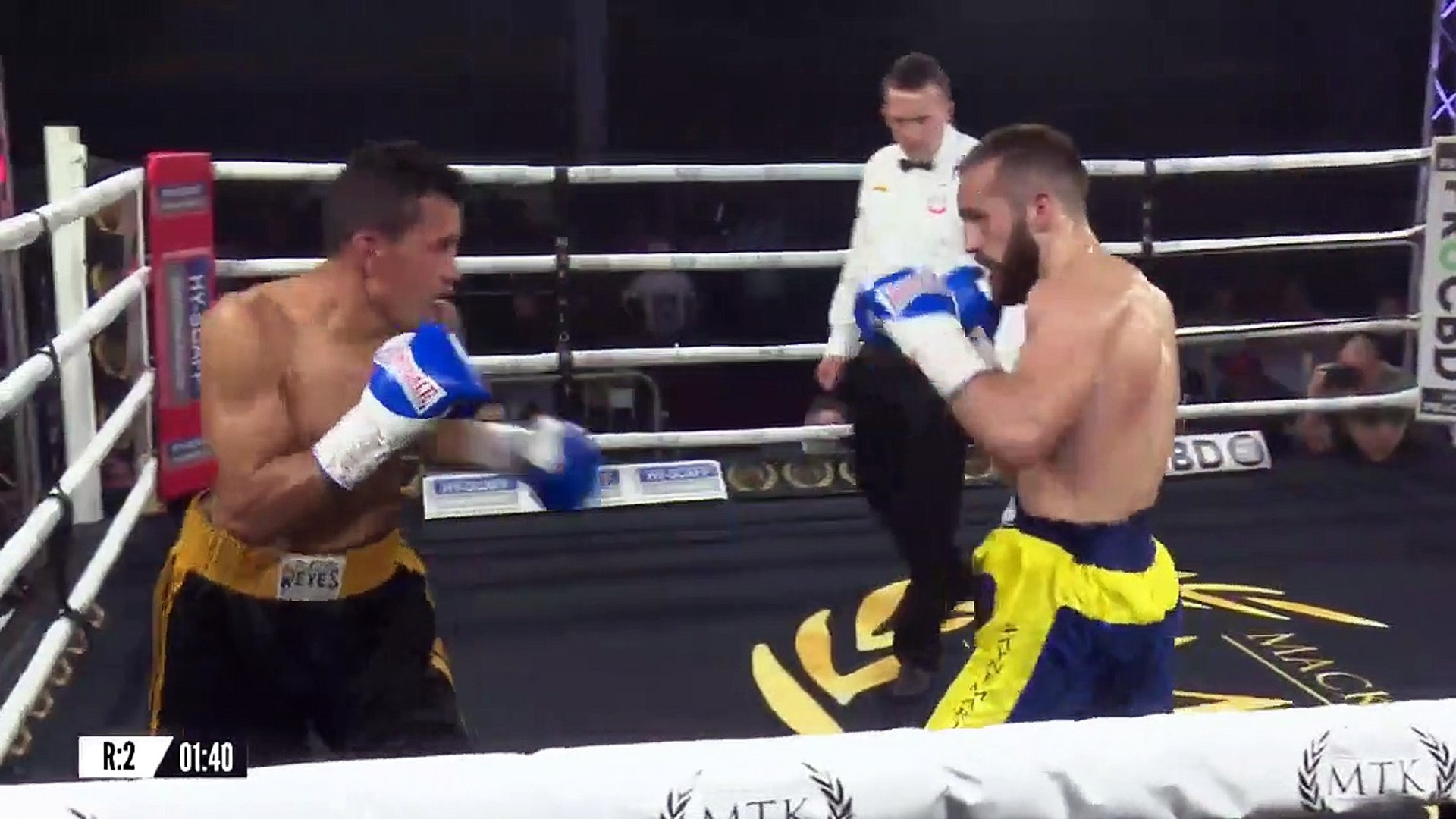 Angelo Dragone vs Michael Isaac Carrero (01-03-2019) Full Fight 720 x 1280