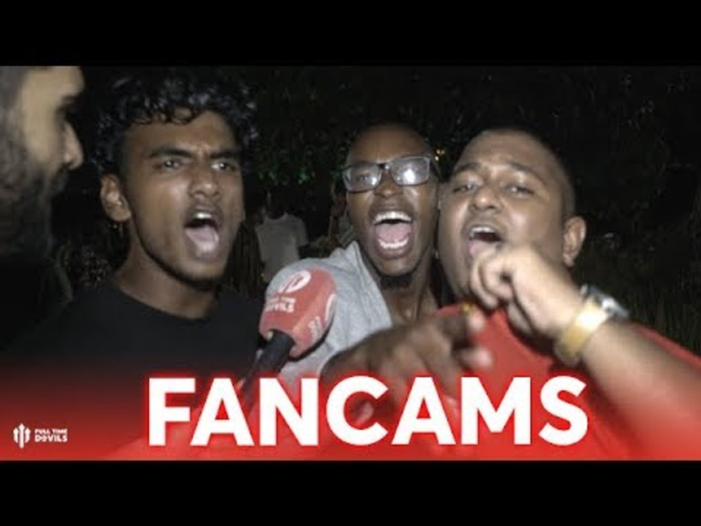 Old United Are Back! FANCAMS: PSG 1 - 3 Manchester United - South Africa Special