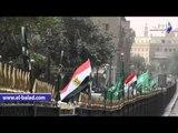 صدى البلد | غلق المحال التجارية بشارع الأزهر استعدادا لزيارة العاهل السعودي