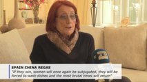 Spanish author Rosa Regas fears effect of rising right wing on women's rights