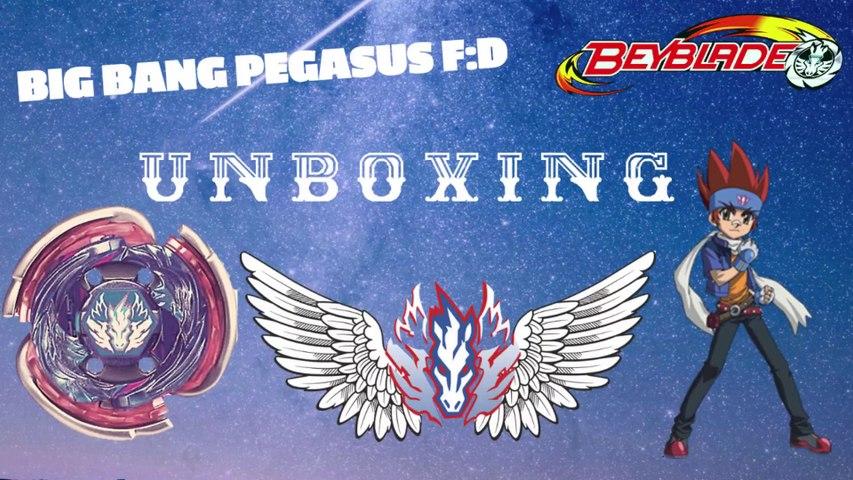 Big Bang Pegasis F D Cosmic Pegasus F D Takara Tomy Unboxing Beyblade Metal Fury ベイブレードメタル Video Dailymotion