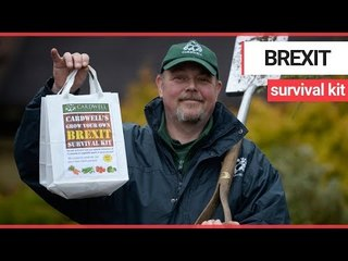 Garden centre releases a 'Grow Your Own Brexit Survival Kit' | SWNT TV