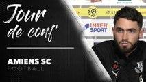 Avant le match Amiens SC - Nîmes Olympique - Thomas Monconduit